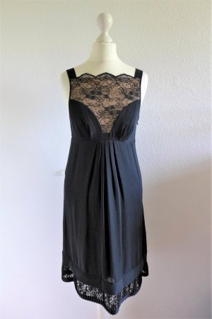 Catherine Malandrino Gatsby Flapper 20s Abendkleid schwarz Spitze Gr. 36 S