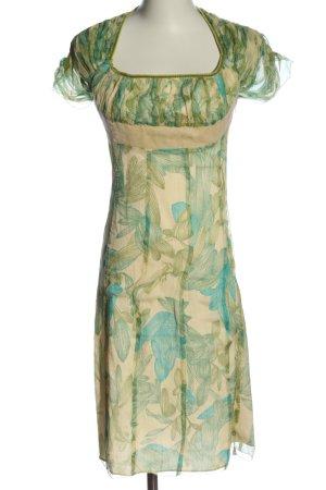 Catherine Malandrino Abito a maniche corte motivo floreale elegante