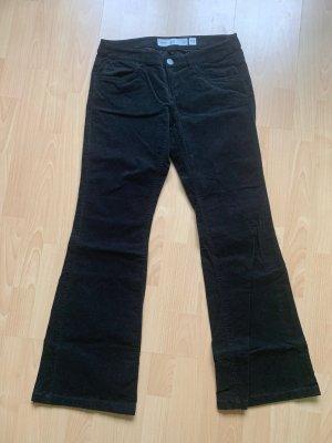 Pantalone a vita bassa nero