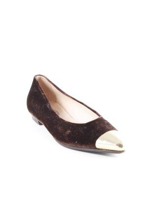 Catini Italia Buty wciągane brązowy-złoto W stylu casual