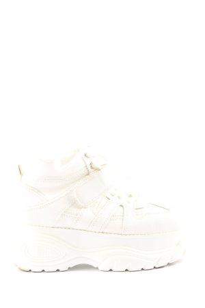 Catwalk Absatz Sneaker weiß Casual-Look