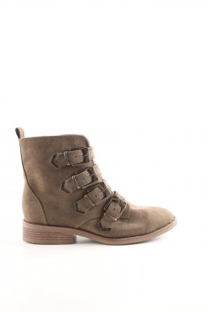 Catwalk Ankle Boots dunkelgrün Casual-Look
