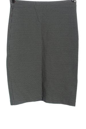 Catwalk Pencil Skirt black-white allover print business style