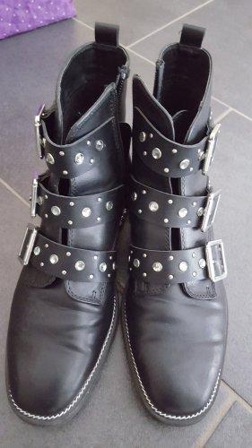 Catwalk Boots mit Steinen