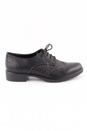Catwalk Wingtip Shoes black business style