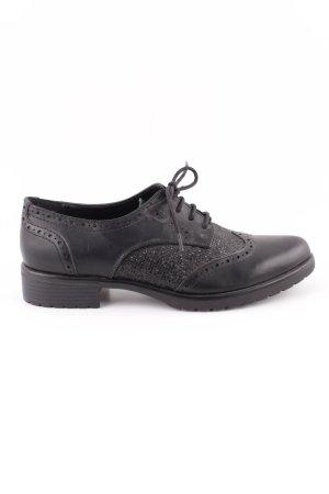 Catwalk Wingtip Shoes black business style