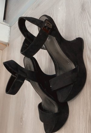 Catwalk Platform Sandals black
