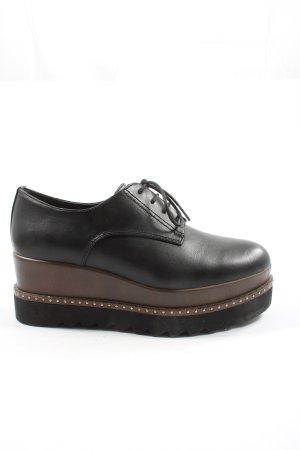 Catwalk Derby zwart-bruin casual uitstraling