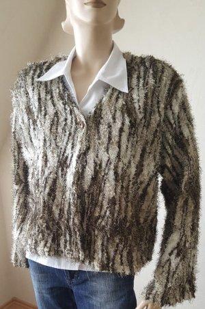 Catwalk Veste en tricot multicolore