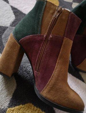 Catwalk Halfhoge laarzen veelkleurig