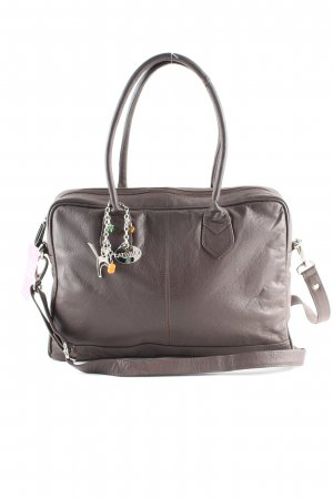 Catwalk Handtasche hellgrau Business-Look