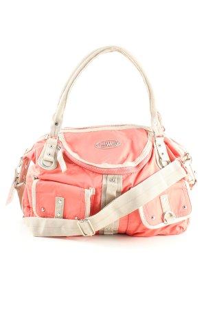 Catwalk Handtasche pink-wollweiß Casual-Look