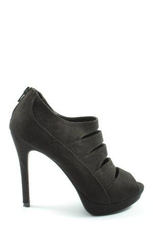 Catwalk High Heel Sandaletten schwarz Casual-Look