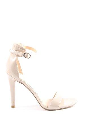 Catwalk High Heel Sandaletten creme Elegant