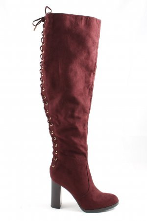 Catwalk High Heel Stiefel rot Casual-Look