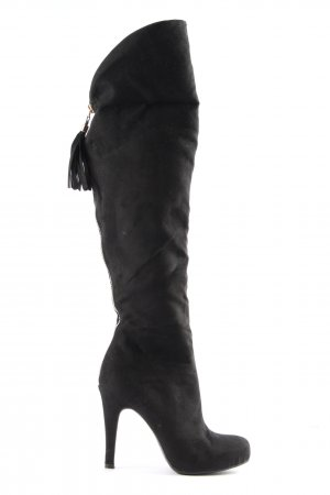 Catwalk High Heel Stiefel schwarz Casual-Look
