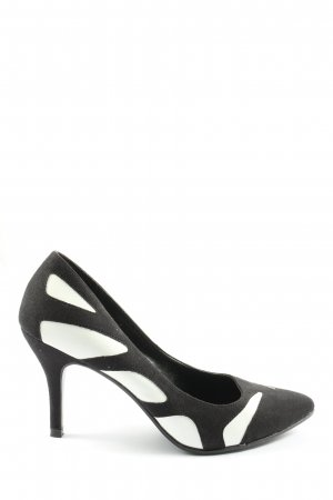 Catwalk High Heels black-white abstract pattern business style