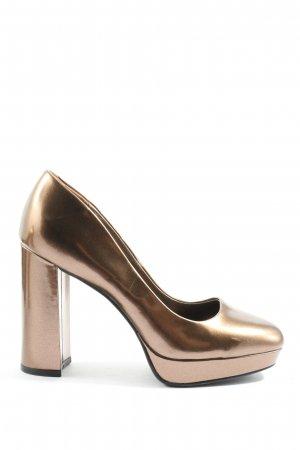 Catwalk High Heels bronzefarben Casual-Look