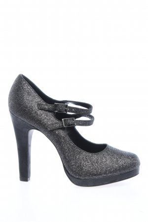 Catwalk High Heels silver-colored elegant