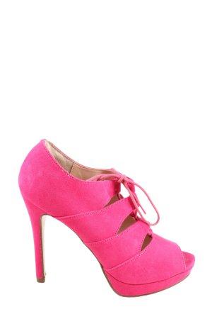 Catwalk Wysokie obcasy różowy W stylu casual