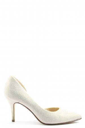 Catwalk High Heels wollweiß Elegant