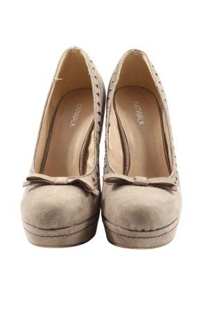 Catwalk High Heels braun Business-Look