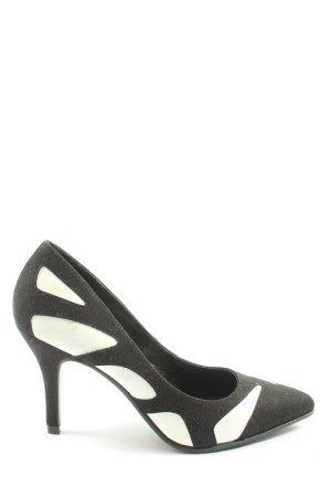 Catwalk High Heels black-white business style