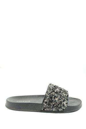 Catwalk Sandalias cómodas negro look casual