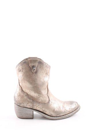 Catwalk Botte courte blanc cassé style décontracté