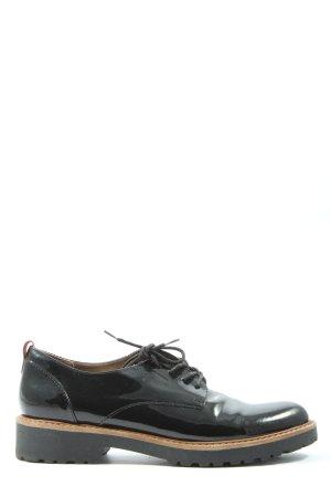 Catwalk Oxford schwarz-rot Casual-Look