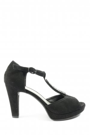Catwalk Peeptoe Pumps schwarz Elegant