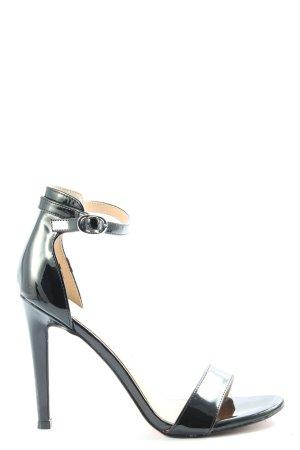 Catwalk Peeptoe Pumps schwarz Business-Look