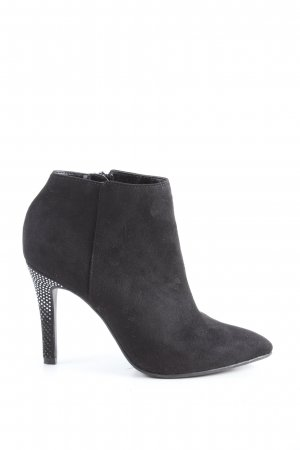 Catwalk Zipper Booties black elegant