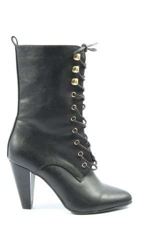Catwalk Zipper Booties black casual look