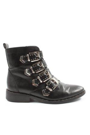 Catwalk Zipper Booties black casual look