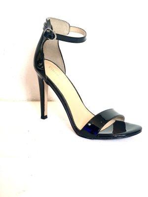 Catwalk Riemchen Sandaletten schwarz Leder neu ungetragen