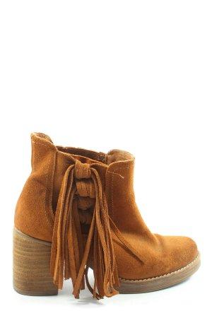 Catwalk Slip-on laarzen licht Oranje elegant