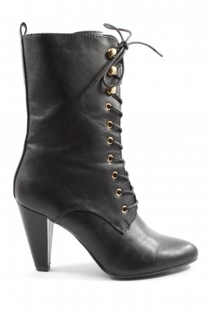 Catwalk Botas con cordones negro elegante