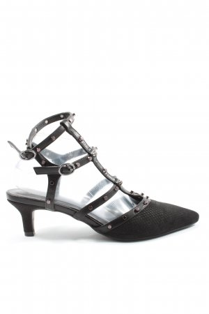 Catwalk Slingback pumps zwart elegant