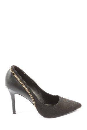 Catwalk Spitse pumps zwart elegant