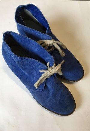 Catwalk Bottine à talon compensé bleu