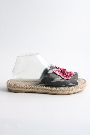 Catwalk Beach Sandals flower pattern casual look