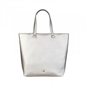 Cavalli Shopper silver-colored