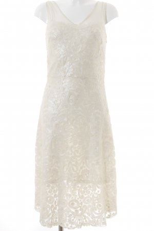 Cavalli Cocktail Dress natural white elegant