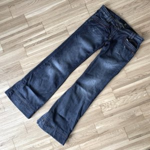 Just cavalli Jeans svasati grigio ardesia-blu scuro Cotone