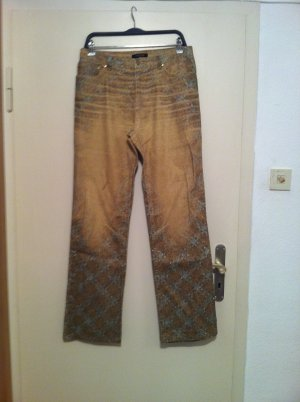 Cavalli High Waist Jeans multicolored cotton