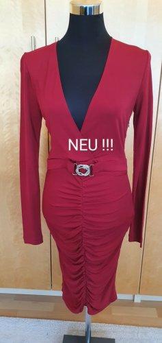 Cavalli Kleid Cocktailkleid Abendkleid Dress Größe 38
