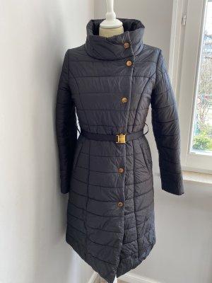 B. Cavalli Quilted Coat black