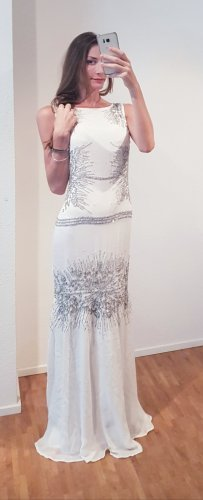 Cavalli Wedding Dress white-silver-colored