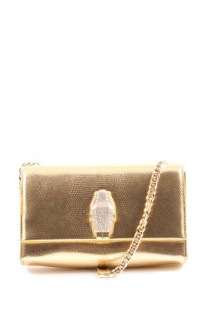 Cavalli Shoulder Bag gold-colored elegant